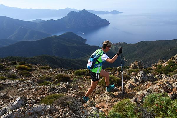 Corsica coast race trail